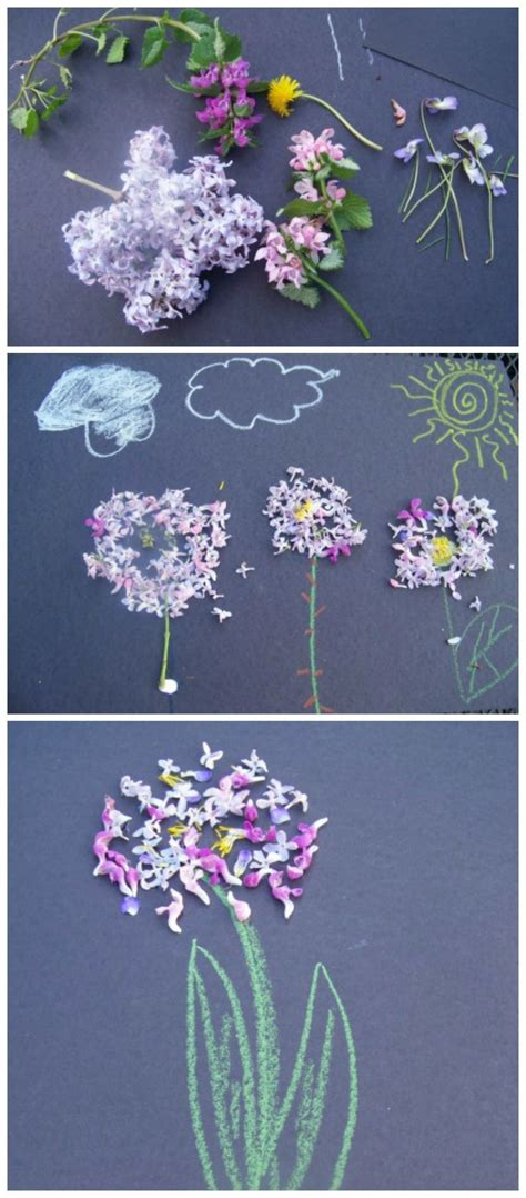 nature art sensory play growing creative kids