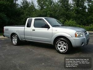 Find used 2003 NISSAN FRONTIER EXTENDED CAB XE 4 CYLINDER