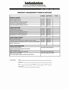 property management forms With documents for property management