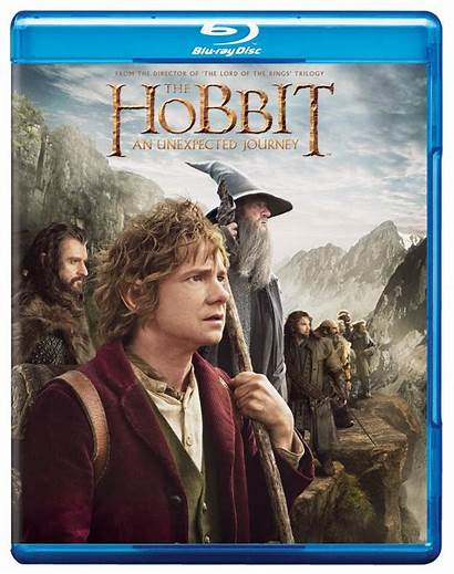 Hobbit Blu Ray Unexpected Journey Dvd Pack