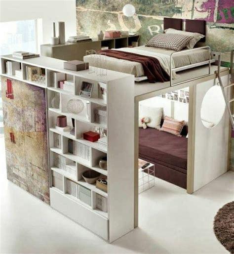 chambre mezzanine ado le lit mezzanine ou le lit supersposé quelle variante