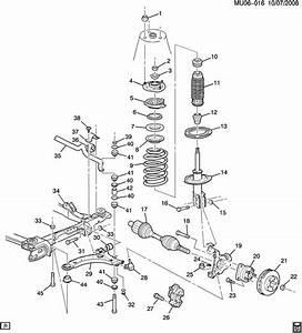 2000 Oldsmobile Silhouette Parts Diagram