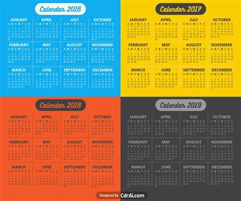 calendar vector fully editable vector