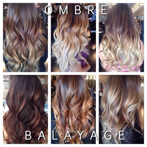 What Is The Difference Between And Brown Hair by The Difference Is Between Ombr 233 And Balayage Ombres Where