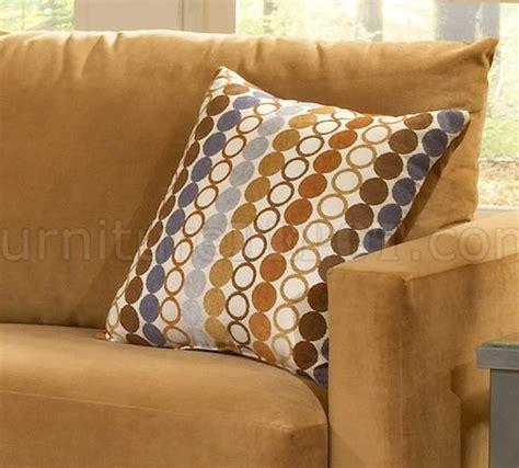 bella cognac fabric sofa loveseat set whula hoop pillows