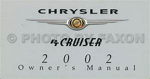 2002 Pt Cruiser Owners Manual Pdf Download