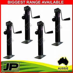 4x Trailer Caravan Jack Stand 2267kg Rated Heavy Duty