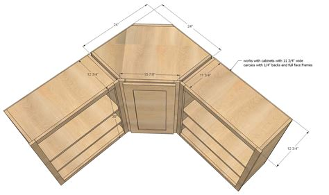 Woodwork How To Build Corner Kitchen Wall Cabinet Plans