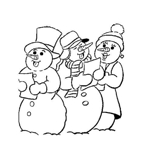 Zingen Kleurplaat by Kerst Kleurplaten Zingen