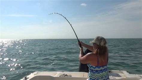 keys fishing florida marathon bridge mile shark