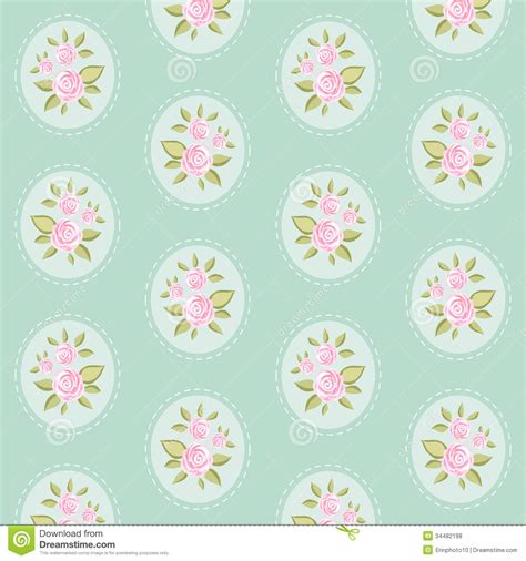 Vintage Pattern 8 Stock Vector Image Of Love Pretty