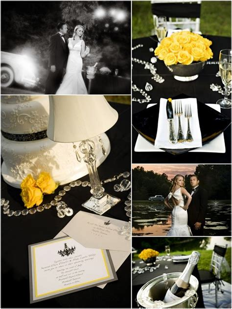 24 best images about yellow black white on yellow weddings yellow and yellow tulips