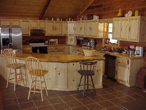 Kitchen Rustic Kitchen Design Using White Wooden L Shaped