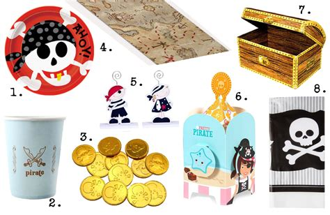 la d 233 co de table de pirate pour anniversaire