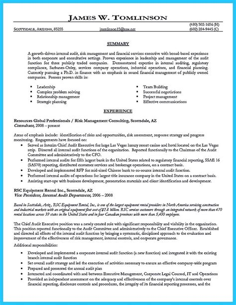 Big 4 Resume Objective by Big 4 Resume Sle Gallery Creawizard