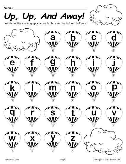 printable lowercase alphabet worksheet fill