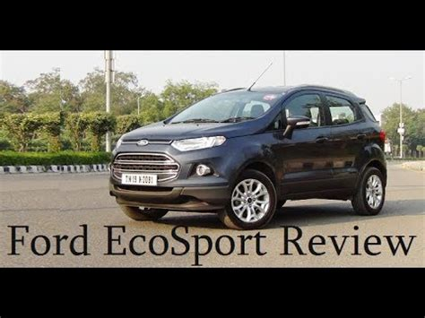 ford ecosport diesel full review space mileage