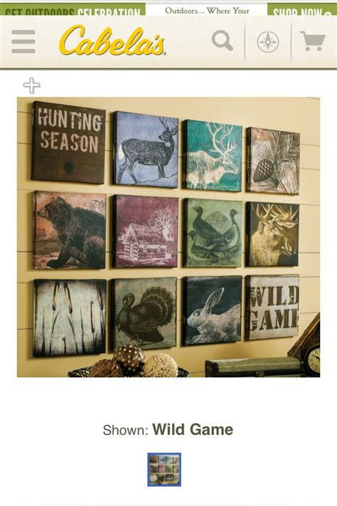 hunting decor house stuff home decor home