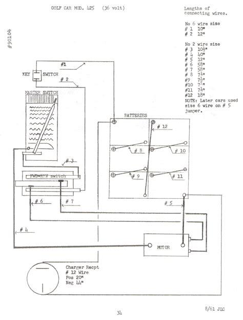 western golf cart 36 volt wiring diagram western free