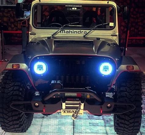 9 Official Mahindra-modified Thars You Can Buy