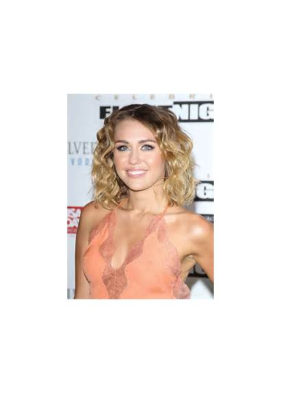 Cleavage Miley Cyrus Celebrity Night Fight Celebrities