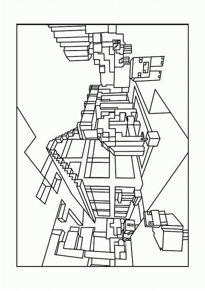 Coloring Minecraft Pages Printable Popular
