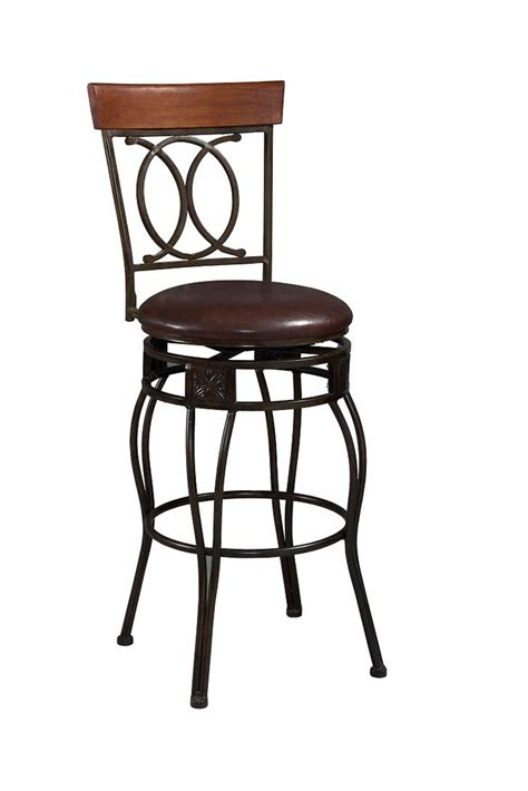 Cushioned Bar Stools With Backs by O X Back Counter Height Padded Bar Stool