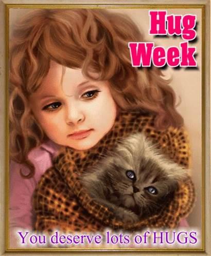 Hugs Lots Deserve Hug Week Send Card