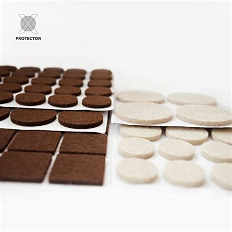 X PROTECTOR Premium TWO COLORS Pack Furniture Pads 133