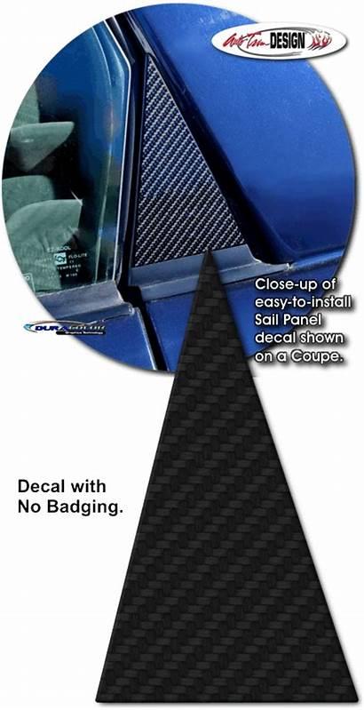Camaro Carbon Fiber Atd Panel Pontiac Sail