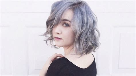 bye ombre granny hair    trend