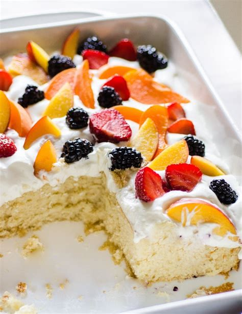 summer cake recipes recipe easy summer cake with fruit dessert