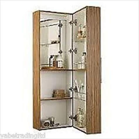 deep bathroom wall cabinets bathroom cabinet wall hung tall deep zebrano effect ebay