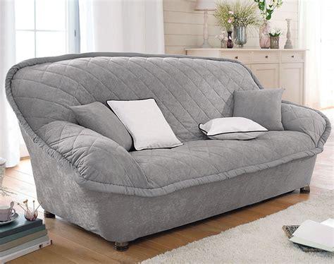 housse de canapé gris housse fauteuil canapé et coussin en microfibre becquet