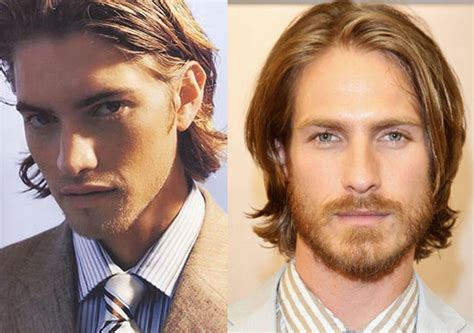 Long Hairstyles For Round Faces Male