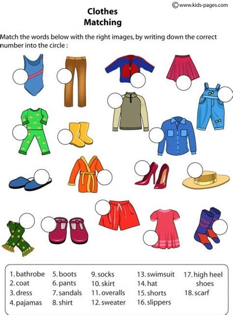 31 Best Learning English Clothes Images On Pinterest  English Language, Learn English And