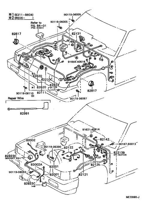 toyota hiluxln65 ms electrical wiring cl japan