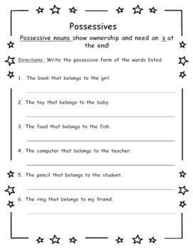 pronoun worksheets 2nd grade newatvs info