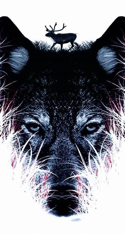 Wolf Iphone Phone Wallpapers Wallpapersafari Animals Space
