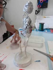 Bandes De Platre Bricolage : sculpter avec des bandes pl tr es atelier d 39 art plastique page 8 ~ Dallasstarsshop.com Idées de Décoration