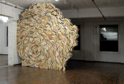 stacked sculpture stacked book sculptures by jonathan callan colossal