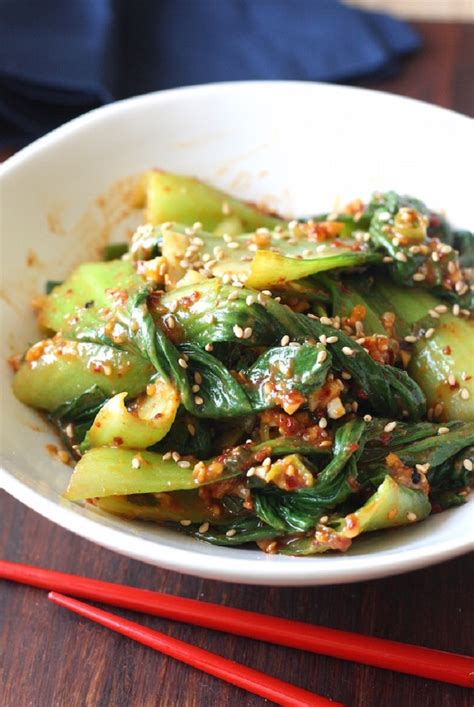 korean choy bok salad recipes recipe muchim seasonwithspice asian dishes food side spice inspired topinspired season vegetable dish japanese read