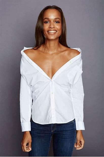 Shirt Down Cool Button Ways Unbutton Blouse