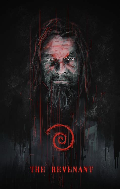 The revenant is a series of conventions writ large, like a 90s mel gibson thriller projected on a mountainside. The Revenant - PosterSpy