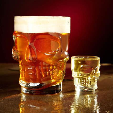 skull  doom beer stein thegreenheadcom
