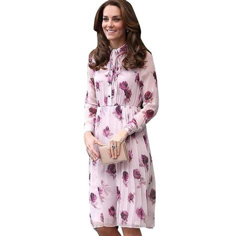 Kate Middleton Dress High Quality 2017 New Summer Dress