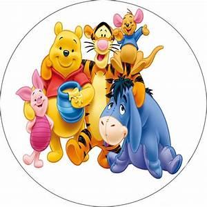 Winnie Pooh Besteck : winnie puuh runde torten druck bild auf a4 fondant papier torten muffin aufleger ~ Sanjose-hotels-ca.com Haus und Dekorationen