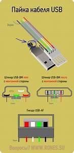 Wiring Diagram 7 Pin Plug Micro Usb Wire Color Code