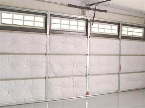 installing garage door insulation how to insulate a garage door how tos diy