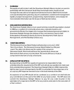 Delighted marketing rfp template contemporary resume for 3pl rfp template